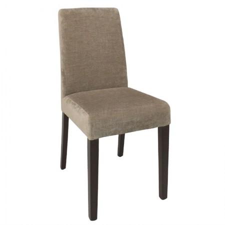 Chaise en tissu / Beige (LOT DE 2)