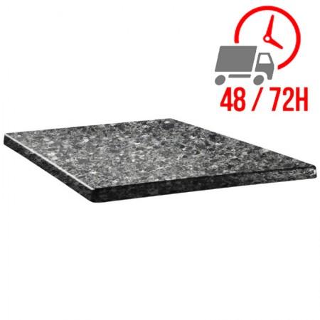 Plateau Granite noir 60x60cm - Classic Line