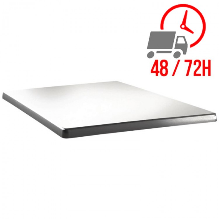 Plateau Blanc 60x60cm - Classic Line