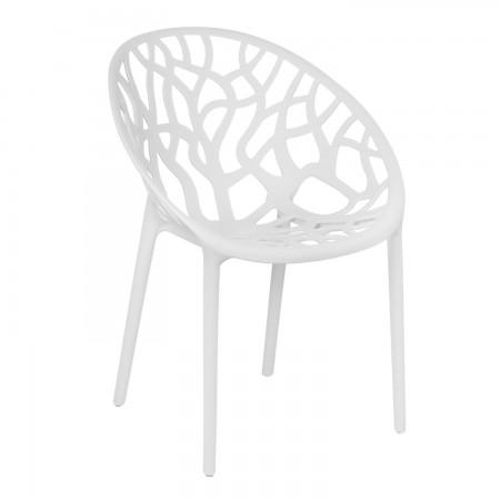 Chaise Iris - Blanc