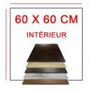 Plateaux 60x60 cm intérieur