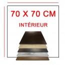Plateaux 70x70 cm intérieur