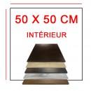 Plateaux 50x50 cm intérieur